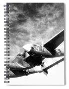 Wwii, Lockheed P-38 Lightning, 1940s Spiral Notebook