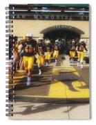 Wyoming Cowboys Entering The Field Spiral Notebook