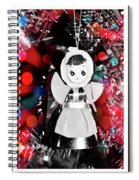 Xmas Decoration As Art Spiral Notebook