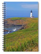 Yaquina Head Lighthouse Spiral Notebook