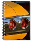 Yellow Chevy Spiral Notebook