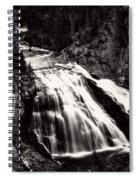 Yellowstone's Gibbon Falls Spiral Notebook
