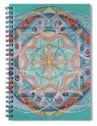Yogi By The Sea Spiral Notebook
