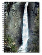 Yosemite Bridal Veil Falls Spiral Notebook