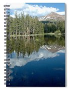 Yosemite Reflections A Spiral Notebook
