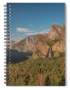 Yosemite Valley View Spiral Notebook