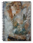 Young Girl  679080 Spiral Notebook
