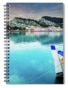 Zaante Town, Zakinthos Greece Spiral Notebook