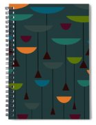 Zappwaits Retro Spiral Notebook