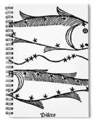 Zodiac: Pisces, 1482 Spiral Notebook
