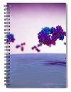 Antibody 1igt Spiral Notebook