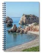 Aphrodite's Rock - Cyprus Spiral Notebook
