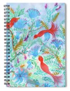 Birds Symphony Spiral Notebook