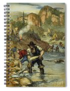 California Gold Rush Spiral Notebook