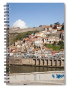 City Of Porto In Portugal Spiral Notebook