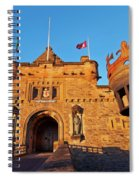 Edinburgh Castle, Scotland Spiral Notebook