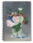 Flowers In A Crystal Vase Spiral Notebook