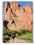 Garden Of The Gods Ten Mile Run In Colorado Springs Spiral Notebook