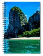 Krabi Beach 2 Spiral Notebook