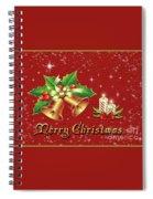 Christmas Card 9 Spiral Notebook
