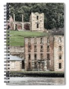 Port Arthur Building In Tasmania, Australia. Spiral Notebook