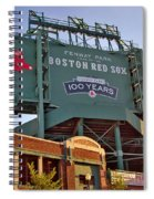 100 Years At Fenway Spiral Notebook