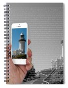 1000 Words-byron Bay Lighthouse Spiral Notebook