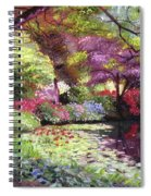 Water Lily Lake Spiral Notebook