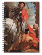 10298 Anthony Van Dyck Spiral Notebook