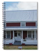 108 Mile Road House Spiral Notebook