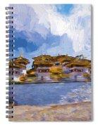 108 Stupas Spiral Notebook
