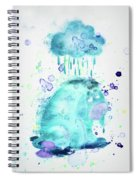 10805 Cloudy Day Spiral Notebook