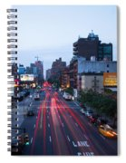10th Avenue Lights Spiral Notebook