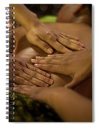 Asian Massage Spa Natural Organic Beauty Treatment Spiral Notebook