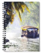 Backwaters Kerala - India Spiral Notebook