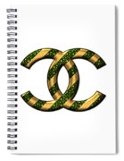Chanel Style Png Spiral Notebook