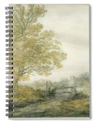 Landscape With Trees Spiral Notebook