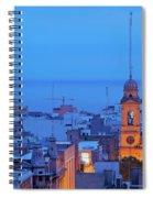 Montevideo, Uruguay Spiral Notebook