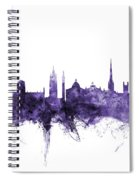 Newcastle England Skyline Spiral Notebook