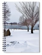 Obear Park In Winter Spiral Notebook