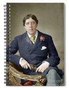 Oscar Wilde (1854-1900) Spiral Notebook