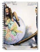 Presidential Campaign, 1864 Spiral Notebook