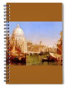 selous Henry Courtney A View Along The Grand Canal With Santa Maria Della Salute Henry Courtney Selous Spiral Notebook