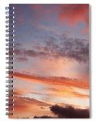 Summer Sky Spiral Notebook