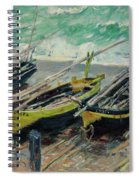 Three Fishing Boats Spiral Notebook