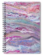 #110 Sweet Dirty Pour Swipe Spiral Notebook