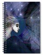 1101   Mysterious  Journey V  Spiral Notebook