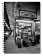 110th Street And Lenox Avenue Station - New York City Spiral Notebook