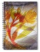 11315 Flower Abstract Series 03 #13 Spiral Notebook