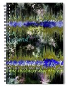 11362 Child Of The Universe With Lyrics By Barclay James Harvest Spiral Notebook